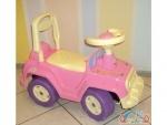 Машинка Джип для катання 4 х 4 розовая