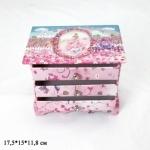 Шкатулка -  комод с ящиками