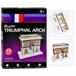 Пазлы 3D Триумфальная Арка, 13 деталей