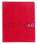 Тетрадь А5/48 клетка UTILITY