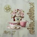 Вышивка бисером «Чайные розы»