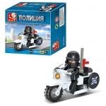 Конструктор Слубан полицейский мотоцикл