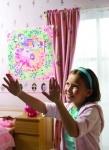 Мозаичный витраж Девочки. ТМ 4M