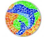 4M: Мозаичное искусство. Дельфин