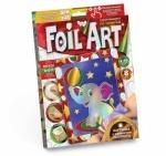 """Творчество. Аппликация цветной фольгой по номерам """"Foil Art"""""""