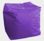 """Пуф детский """"Куб фиолетовый"""""""