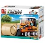 Конструктор Слубан трактор для уборки соломы