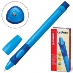 Ручка шариковая для правши синяя STABILO