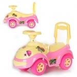 Машинка для катання ЛУНОХОДИК ярко-розовая