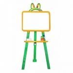 Мольберт магнитный для рисования (желто-зеленая)