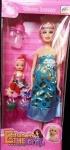 Кукла беременная с дочкой