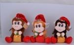 Мягкая игрушка обезьянка 18 см