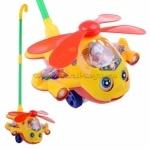 Каталочка вертолет на палочке