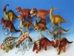 Динозавр резиновый, в ассортименте