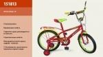 """Велосипед детский 2-х колесный 18"""", красный"""