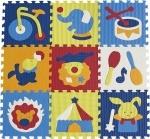 """Детский игровой коврик-пазл """"Удивительный цирк"""""""