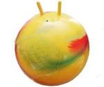 Мяч рожки Радуга 65см