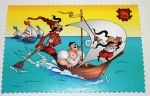 Почтовая открытка : Казаки