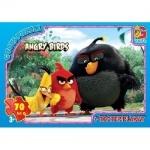 """Пазлы из серии """"Angry Birds"""", 70 эллементов"""