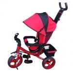 Детский трехколесный велосипед, красный
