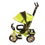 Детский трехколесный велосипед, зеленый