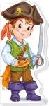 Мальчишкам и девчонкам : Пираты, рыцари, ковбои (р)