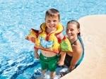 Детский надувной жилет с морскими животными, 3-6 лет