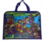 """Папка-портфель на молнии """"Ninja Turtles"""""""