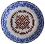Тарелка  украинская коллекция МИКС