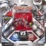 Игровой набор Monsuno Core-Tech - Eklipse EVO и SNAPCLAW (Сombat 2-Packs) W4