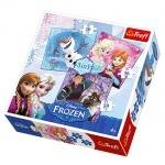 Пазлы  Disney, Frozen, Холодное сердце, 3в1