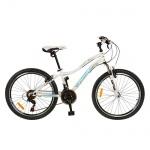 """Велосипед двухколесный 26"""", белый"""