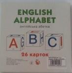"""Карточки большие """"Английский алфавит"""", 26 карточек"""