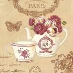 Вышивка бисером Завтрак в Париже