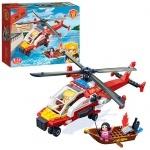 Конструктор Пожарный вертолет