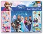 Наклейки с альбомом на планшете Frozen