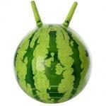 Мяч для фитнеса с рожками, арбуз