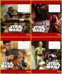 "Тетрадь в линию, 24 листа  "" Star Wars"""