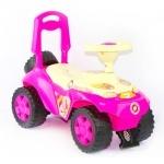 Машинка для катания ОРІОША ярко-розовая