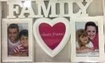 """Фоторамка на 3 фото """"Family"""""""