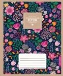 Тетрадь А5/ 48 листов, линия FLOWERS DELICATO