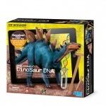 Раскопки Стегозавр. ДНК динозавра