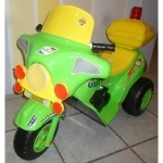 Мотоцикл ЯМАХА, салатовый