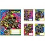 Тетрадь А5/12 косая  без дополнительных линий MUTANT NINJA  TURTLES Comics  -16