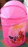 Корзина для игрушек Розовая WINX / Тачки