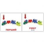 """Карточки мини украинско-английские """"Прикметники/Adjectives"""""""