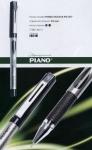 Ручка гелевая Piano синяя