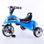 Велосипед трехколесный, голубой