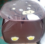 Корзина для игрушек Коричневая обезьянка/Белая корова