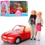 Набор кукол с машиной